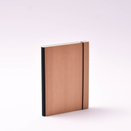 Agenda PURIST WOOD Cherry | 12 x 16,5 cm,  1 week/double page
