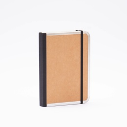 Daily Planner 2022 BASIC light brown   12 x 16,5 cm,  1 day/page