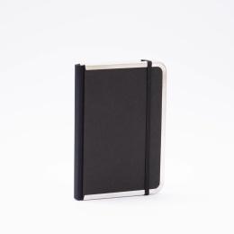 Week Planner 2022 BASIC black   12 x 16,5 cm,  1 week/double page