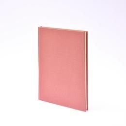 Week Planner 2022 LEINEN dusky pink   17 x 24 cm,  1 week/double page