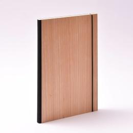 Week Planner 2022 PURIST WOOD Cherry | 17 x 24 cm,  1 week/double page