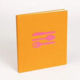 KOCHBUCH orange/pink