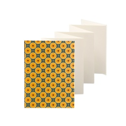 Leporello Album ALMA Norfolk | 13 x 18 cm, portrait format, for 14 photos cream