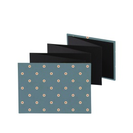 Leporello Album JACKIE Biarritz | 18 x 13 cm, landscape format, for 14 photos black
