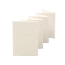 Leporello LEINEN cream | 13 x 18 cm, portrait format, for 14 photos cream