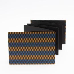 Leporello Album OLIVIA Istanbul | 18 x 13 cm, landscape format, for 14 photos black