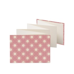 Leporello Album SUZETTE  Pigalle | 13 x 18 cm, landscape format, for 14 photos cream