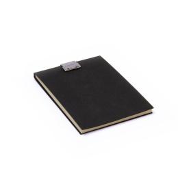 Note Pad CLIPPER black | A6, 50 sheet blank