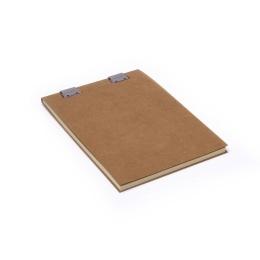 Note Pad CLIPPER light brown | A5, 50 sheet blank, 90 g