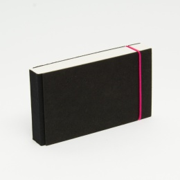 Notepad JOURNALIST elastic pink
