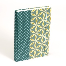 Notebook ALMA Cornwall | 12 x 16,5 cm, 144 sheet blank