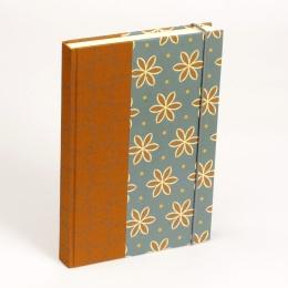 Notizbuch ALMA Avon Blue | 9 x 13 cm, 120 Blatt liniert
