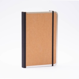 Notebook BASIC light brown | A 5, 144 sheet blank