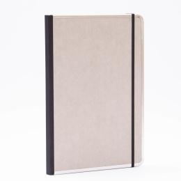 Notebook BASIC light grey   A 4, 96 sheet lined