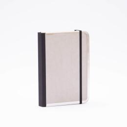 Notebook BASIC light grey | 12 x 16,5 cm, 144 sheet dot grid