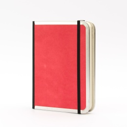 Notebook BASIC COLOUR red   12 x 16,5 cm, 144 sheet blank