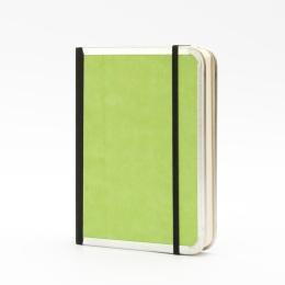 Notebook BASIC COLOUR green   12 x 16,5 cm, 144 sheet blank