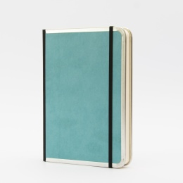 Notebook BASIC COLOUR turquoise | A 5, 144 sheet blank