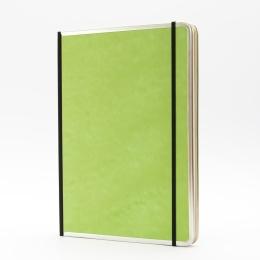 Notebook BASIC COLOUR green   A 4, 96 sheet dot grid