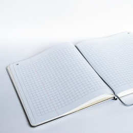 Notebook BASIC KONTOR 24 x 28 cm, 96 sheet checked