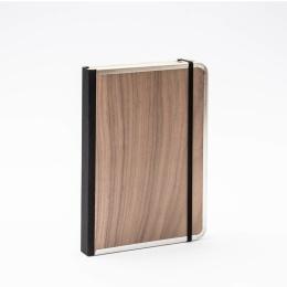 Notebook BASIC WOOD Nut | A5, 144 sheet blank