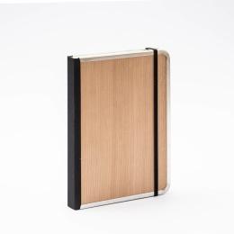Notebook BASIC WOOD Cherry   A5, 144 sheet dotted