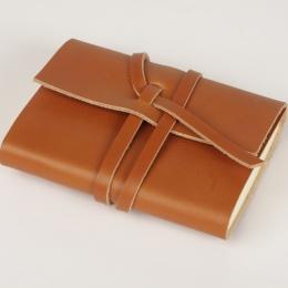 Notebook CIRCUM lightbrown | 12 x 16,5 cm, 144 sheet lined