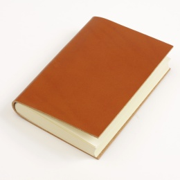 Notebook CLASSIC light brown | A 5, 144 sheet blank