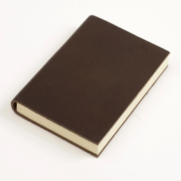 Notebook CLASSIC dark brown | A 5, 144 sheet blank