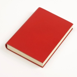 Notebook CLASSIC red   A 5, 144 sheet blank