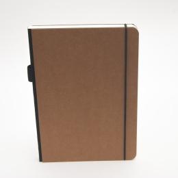 Notizbuch ILLUSTRATOR hellbraun | DIN A 5, 96 Blatt Punktraster