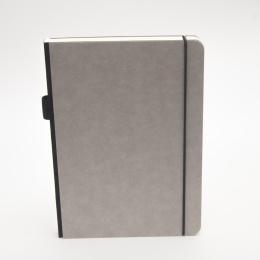 Notizbuch ILLUSTRATOR hellgrau | DIN A 5, 96 Blatt blanko