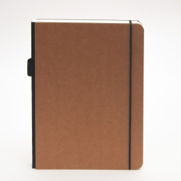 Notebook ILLUSTRATOR light brown | A 5, 96 sheet lined