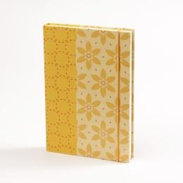 Notizbuch JACKIE Nizza | 12 x 16,5 cm, 144 Blatt blanko