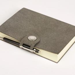 Notebook LEFA grey | A4, 96 sheet dot grid
