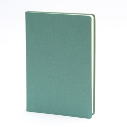 Notebook LEINEN jade | A 5, 96 sheet lined