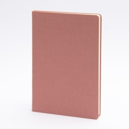 Notebook LEINEN dusky pink | A 5, 96 sheet lined