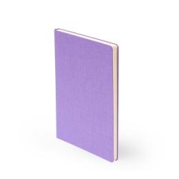 Notebook LEINEN lilac | A 5, 96 sheet lined