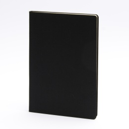 Notebook LEINEN black | A 5, 96 sheet blank