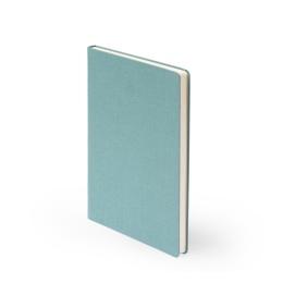 Notebook LEINEN jade | A 5, 96 sheet blank