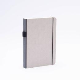 Notebook MINIMALIST GREY dark grey | A5, 144 sheet blank