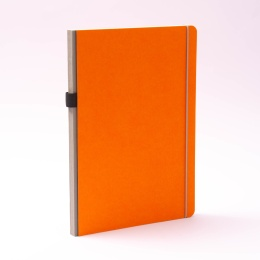 Notebook NEW GENERATION orange | A 4, 96 sheet blank