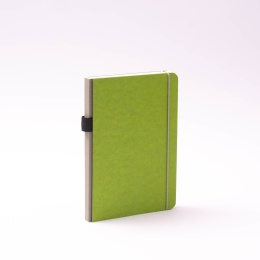 Notebook NEW GENERATION green | A 5, 96 sheet dot matrix