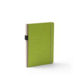 Notebook NEW GENERATION green   A 5, 96 sheet dot matrix