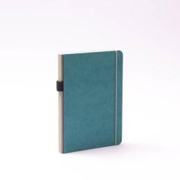 Notebook NEW GENERATION turquoise | A 5, 96 sheet dot matrix