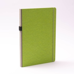 Notebook NEW GENERATION green | A 4, 96 sheet dot matrix