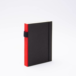Notebook PURIST red | 12 x 16,5 cm, 144 sheet blank