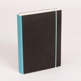Notizbuch PURIST türkis | DIN A 5, 144 Blatt liniert
