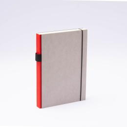 Notebook PURIST GREY red | A5, 144 sheet dotted