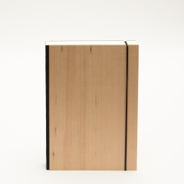 Notebook PURIST WOOD Cherry | DIN A 5, 144 sheet blank